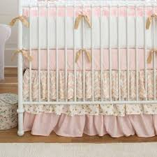pale pink bedding sets interesting pale pink and gold chevron 2 piece crib bedding set carousel