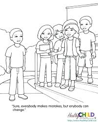 Cyber Bullying Coloring Pages Printable Free Anti Sheets Best Images