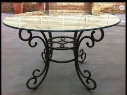 wrought iron coffee table with glass top wrought iron table base visit stonecountyironworks for more