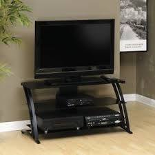 55 entertainment center. Perfect Entertainment Get Quotations  Black TV Stand Television Entertainment Center Flat Screen  32 40 46 50 55 Inc And E