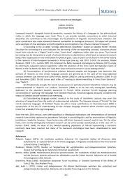 book of abstracts 2 2 sle 2016