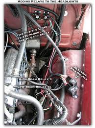 1954 chevy pickup headlight relays wiring my headlight relays