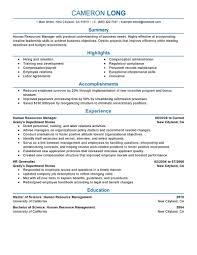 human resources generalist resume summary cipanewsletter resume human resources resume summary