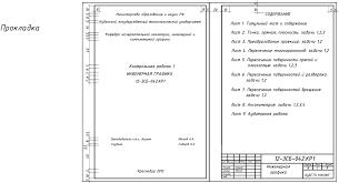 Содержание и оформление контрольных работ Рисунок 47 Образец выполнения титульного листа контрольной работы