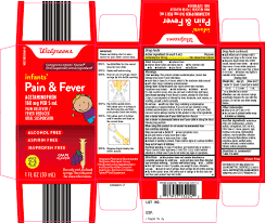 Pain And Fever Infants Acetaminophen Suspension Walgreen