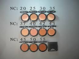 Mac Mineralize Skinfinish Color Chart Free Shipping Makeup New Studio Fix Powder Plus Foundation