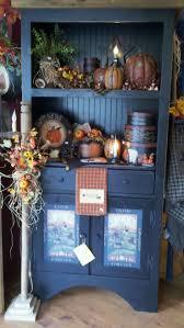 C & C Furnishings: primitive fall store display