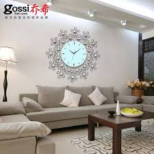 Wall Clocks For Bedroom Online Shop Ultra Quiet Style Garden Wrought Iron Wall  Clock Modern Minimalist . Wall Clocks For Bedroom ...