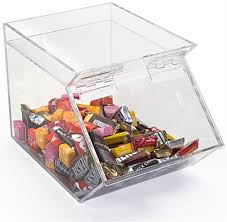 candy container for assortment of goos