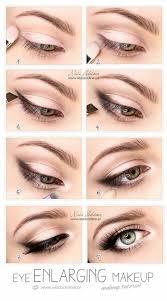 eye enlarging eye makeup tutorial easy eye makeup tutorial for blue eyes brown eyes