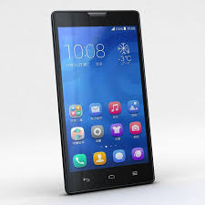 Huawei Honor 3C & 3C 4G Black 3D Model ...