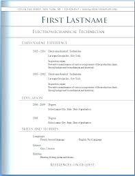 Free Resume Templates Microsoft Word Blaisewashere Com