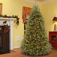 Dual Led Light Christmas Tree 7 5 Foot Dunhill Fir Hinged Tree With 700 Low Voltage Dual Led Lights 7 5