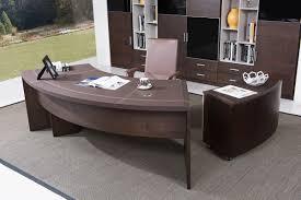 clear office desk. Modrest Highland Modern Brown Oak Office Desk W/Cabinet Clear P