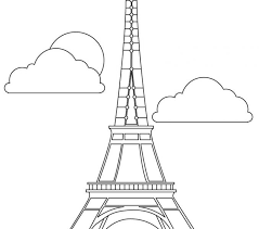 Small Picture eiffel tower and firework coloring page the eiffel tower