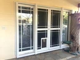 sliding screen door pet grill dog proof window screens screen door protector half grille sliding guard
