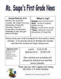 Monthly Newsletter Template For Teachers February Newsletter Template Keni Com Free Monthly Newsletter