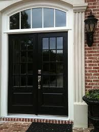 black double front doors. Plain Black Before U0026 After Replacement Door Photos  EXOVATIONS House In 2018  Pinterest Doors Double Front Doors And Black And Front Doors E
