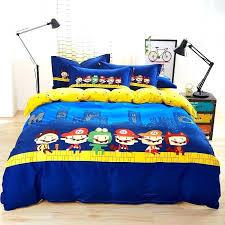 super mario bed sheets mario sheet set sheet set cartoon bedding duvet cover bed sheet and
