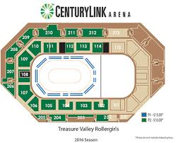 Century Link Seating Chart