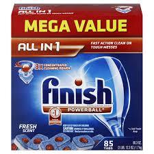 Dishwasher Brands Amazoncom Finish Powerball Tabs Dishwasher Detergent Fresh