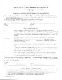 Local Srervicestax Exemption Certificate