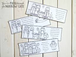 Looking for a book or two of your own?? Printable Christmas Bookmarks Path Through The Narrow Gate