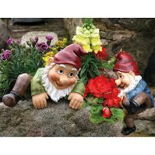 billy barry climbing garden gnomes