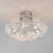 lighting for lounge ceiling. buy john lewis blossom flush ceiling light 6 arm online at johnlewiscom lighting for lounge