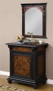 inch single vessel sink bath vanity set with drawers