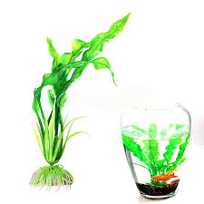 details about faux artificial floating green grass weed fish tank ornament water plants decor