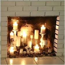 fireplace candle ideas insert gettheebehind me with 3