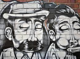 graffiti art of digbeth walk walk run