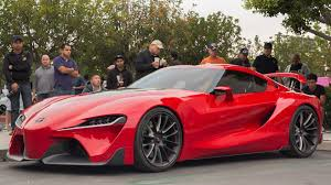 NEW TOYOTA SUPRA FT 1 Concept