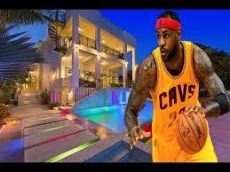 lebron james house inside basketball court. LeBron James House Inside Outside On Lebron Basketball Court YouTube