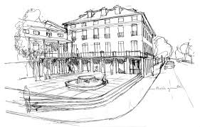 modern style rough architectural sketches and rough architectural sketches architectural illustration 1jpg