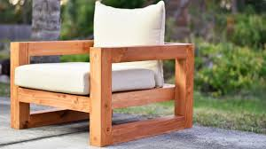 modern wood patio furniture. Plain Modern DIY Modern Outdoor Chair To Wood Patio Furniture O