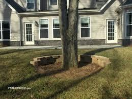 retaining wall around tree retaining walls patios and north build retaining wall around tree roots