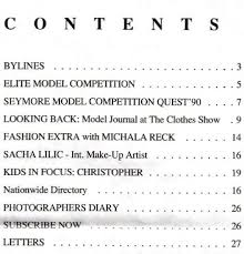 "Articles From ""Model Journal"" by Alexander Baron: Articles Index"