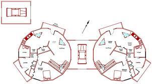 35ft dome duplex first floor plan