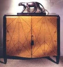 deco furniture designers. stunning art deco cabinet with panther statue furniture designers