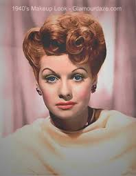lucille ball 1940s makeup look not do keen on the eyebrows but love the cheeks and lips