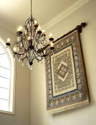 pretty tapestry wall hangings in entry traditional with foyer light glamorous tapestry wall hangings decoration ideas