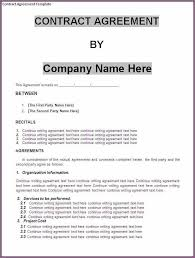 business contract template designproposalexample intended for business contract agreement template business agreement sample letter