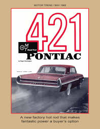1962 Pontiac Tempest Pontiacregistrycom Magazine Contents