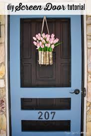 diy screen door tutorial free plans victorian screen doors ge 22 cu ft french door refrigerator