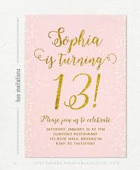 13th Party Invitations Pin On Bellas 13th