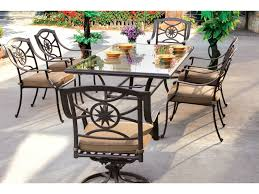 darlee outdoor living glass top cast aluminum antique bronze 72 x 42 rectangu of cast aluminum patio table
