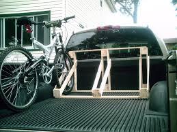 diy wood truck bed bike rack cbellandkellarteam