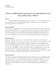 critical response essay planning final critical response  2 pages 2 5 critical essay outline